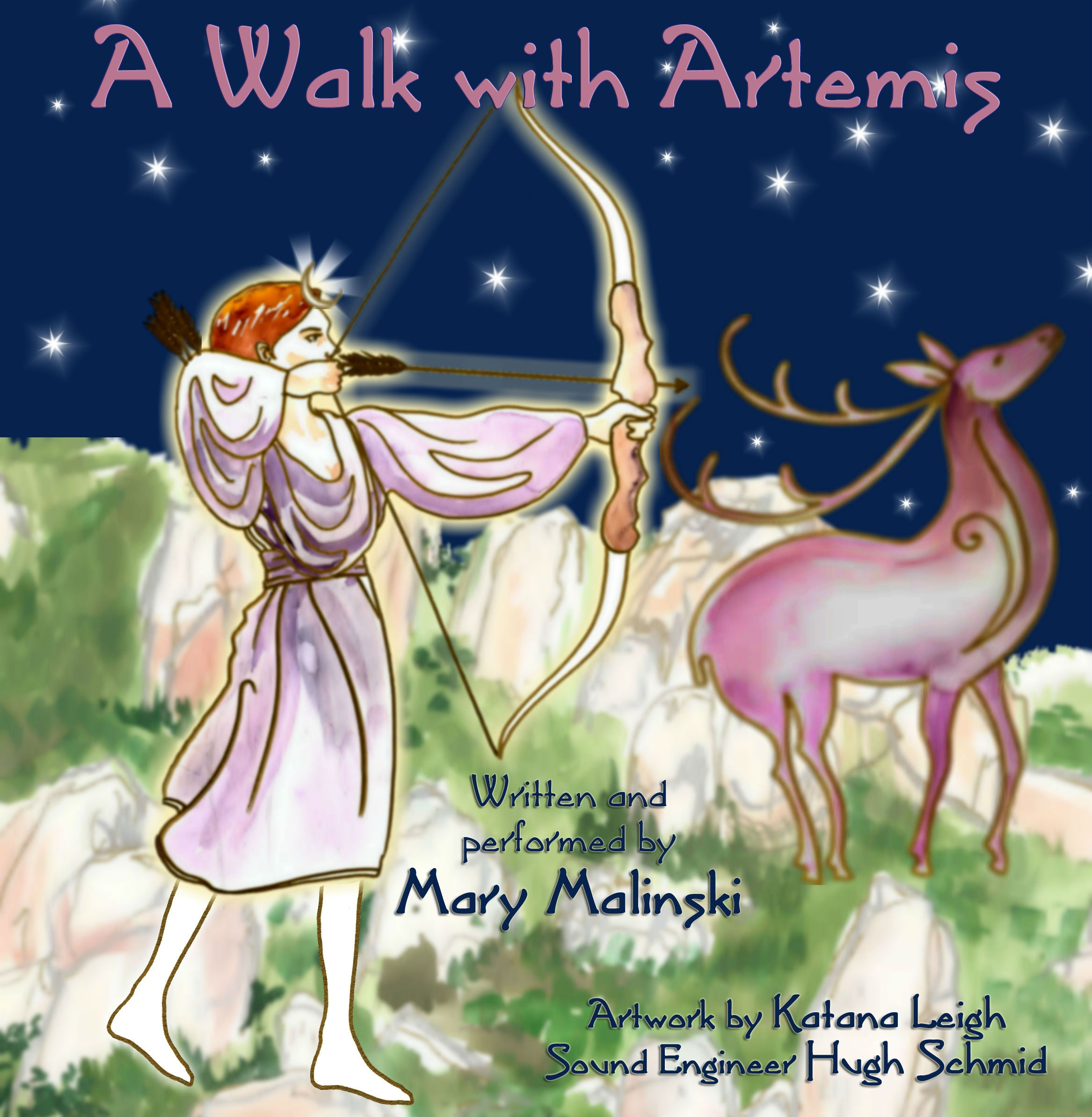 walk with artemis guided meditation